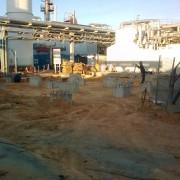 Bancada paraequipos en nueva planta Azufre RLR