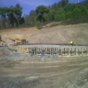 Cimentación para depuradora en Minas Sotiel Coronada