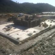 Cimentación para depuradora en Minas Sotiel Coronada2