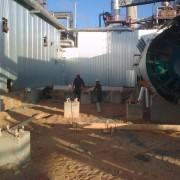 bancadas nueva planta de Azufre RLR